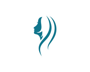Woman silhouette character illustration