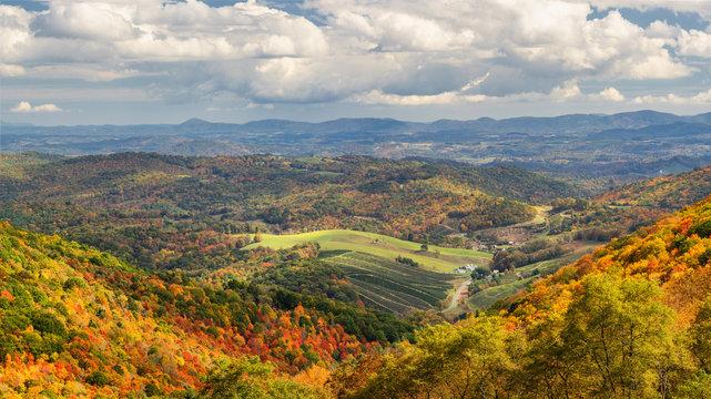 Autumn at Grayson Highlands State Park Virginia