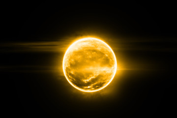 The sun in space fantasy