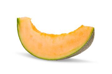 Cantaloupe melon in slice