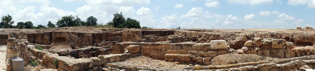 Panorama of ruins