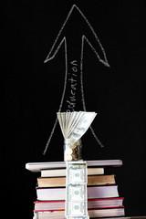 saving money for education, concept finance