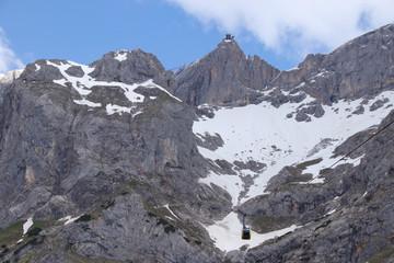Blick zum Dachstein, Seilbahn
