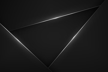 Black modern background