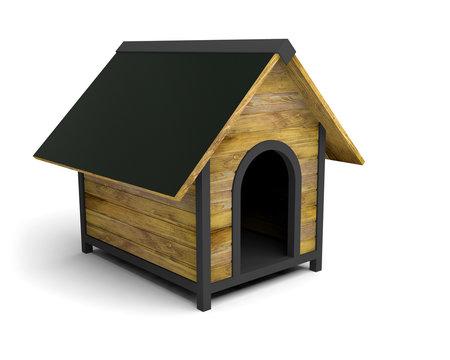 niche maison pour chien 3D
