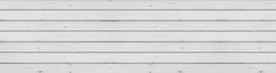 Panorama of Vintage white wood background