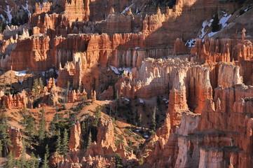 Deurstickers Canyon USA. Panorama of Bryce Canyon