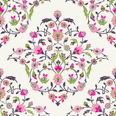 Classic Ottoman Turkish style floral pattern