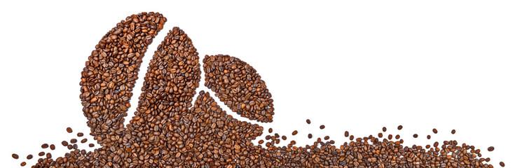 Kaffeebohnen - Panorama