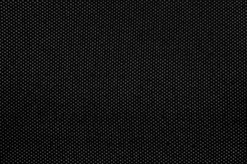 Rough black fabric texture for background