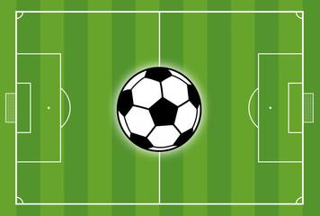 Fußballfeld Fußballplatz Rasen Fußball