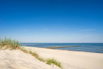 Fototapete - Strand an der Ostsee