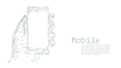 Mobile Internet Technology Concept Template