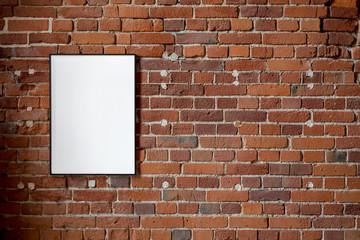 blank poster, mockup, project presentation