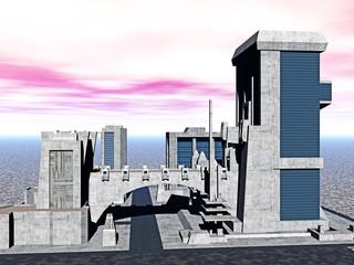 moderne Metropole