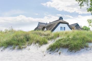 Haus in der Düne