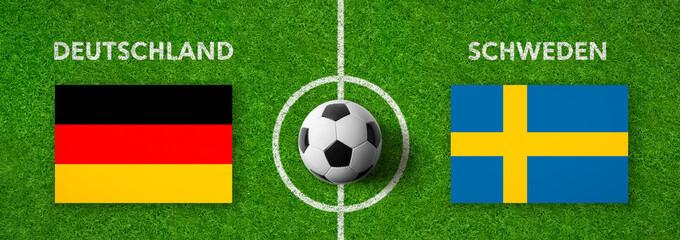 Fußball - Deutschland gegen Schweden