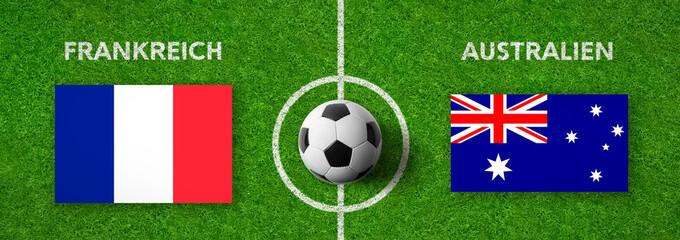 Fußball - Frankreich gegen Australien