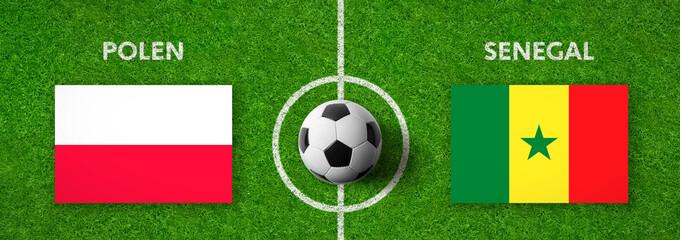 Fußball - Polen gegen Senegal
