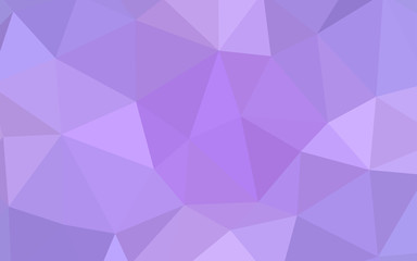 Light Purple vector shining triangular layout.