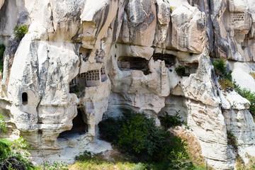rock-cut ancient cave church near Goreme town