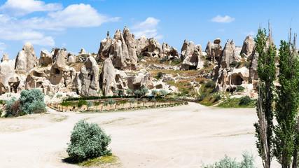 ancient monastic settlement near Goreme town