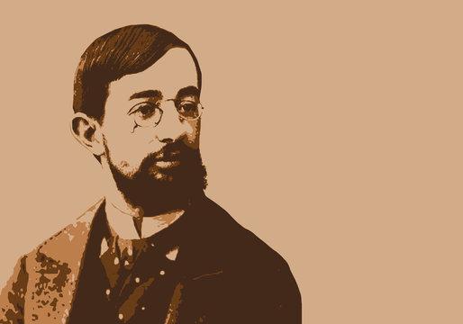 Toulouse Lautrec - peintre - portrait - personnage célèbre - artiste peintre - artiste - moulin rouge