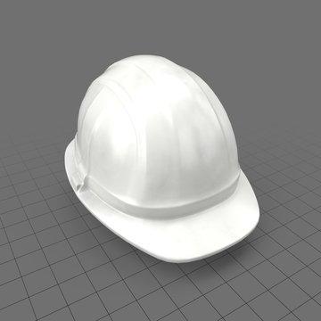 Construction worker's hard hat