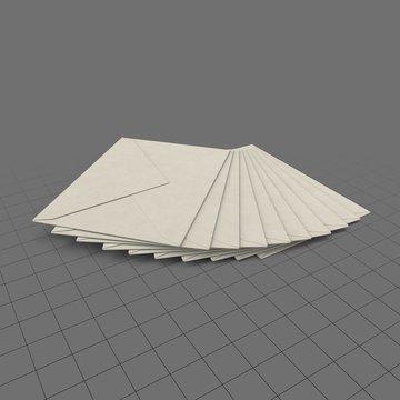Fan of envelopes