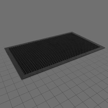 Non-slip kitchen mat