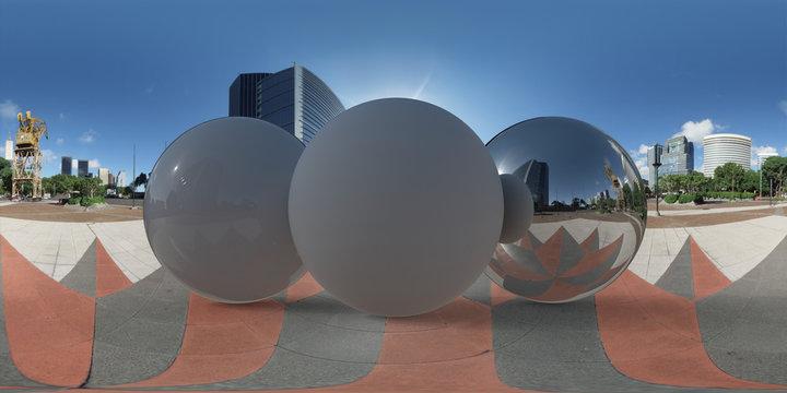 Tiled Plaza, Argentina