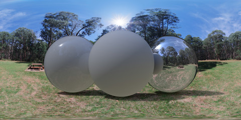 Woodland Picnic Clearing, Australia