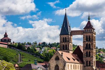Stadtkirche in Esslingen am Neckar