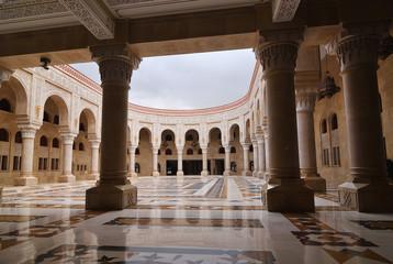 AL-Saleh mosque in Sanaa. Yemen