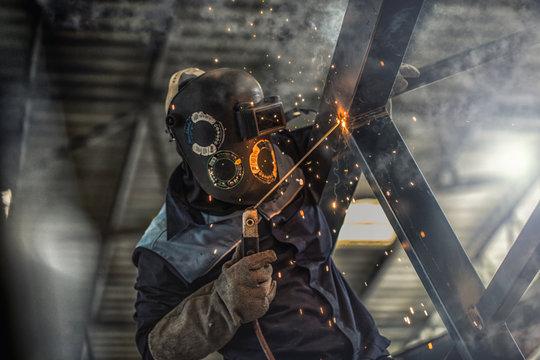 Welding Steel Factory