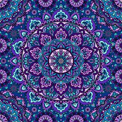 Seamless pattern of mandala purple.Seamless pattern of mandala purple. For design backgrounds.