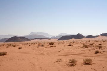Balade dans le Wadi Rum - Jordanie