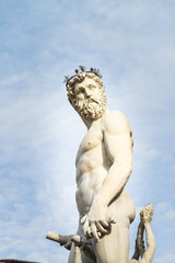 Neptune Fountain in Florence.