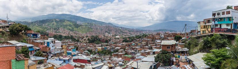 Panorama de la Comuna 13, Medellín, Colombie