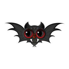 Cartoon Bat halloween