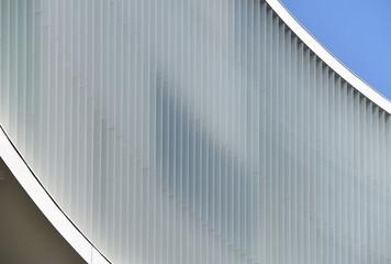 Building facade details blinds