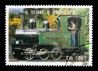 Steam Locomotive, Trains serie, circa 1995