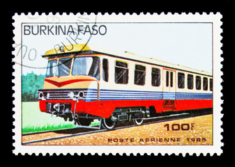Diesel trainset, Railway Locomotives serie, circa 1985