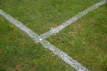 Fußball Linien, Gras, Kreide