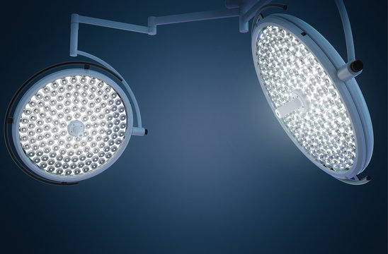 surgery lights or medical lamps