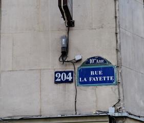 Rue La Fayette. 204