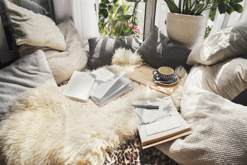Cozy place to home office
