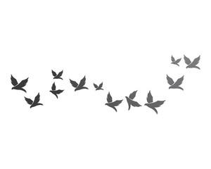 Bird background Template vector