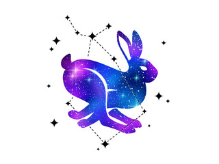 Rabbit and constellation of Bootes