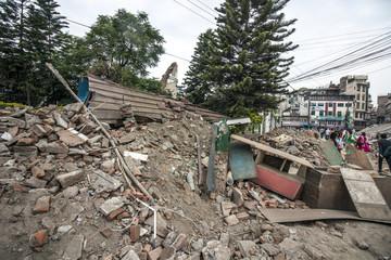 Nepal, Kathmandu - Ruine